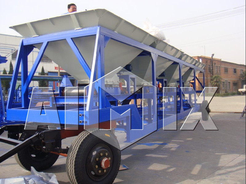 Best price of 60t/h batch mobile asphalt plant for sale