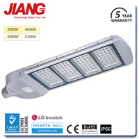 Meanwell Driver LG Chip CE ROHS TUV IP66 Road Highway 180W 240W Waterproof LED Street Light Outdoor