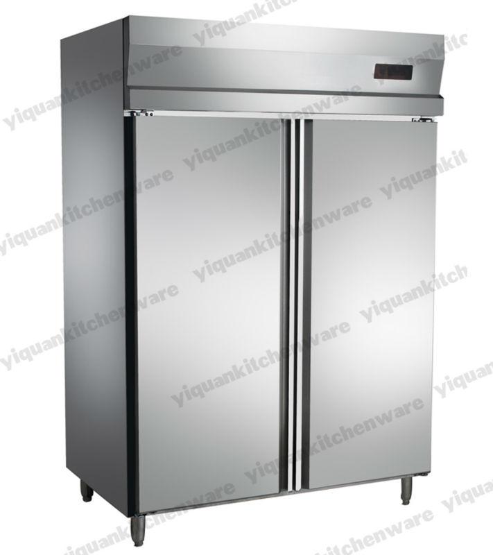Zwei Türen Aufrecht Edelstahl Kühlschrank Mit Nachlauf Gn ...