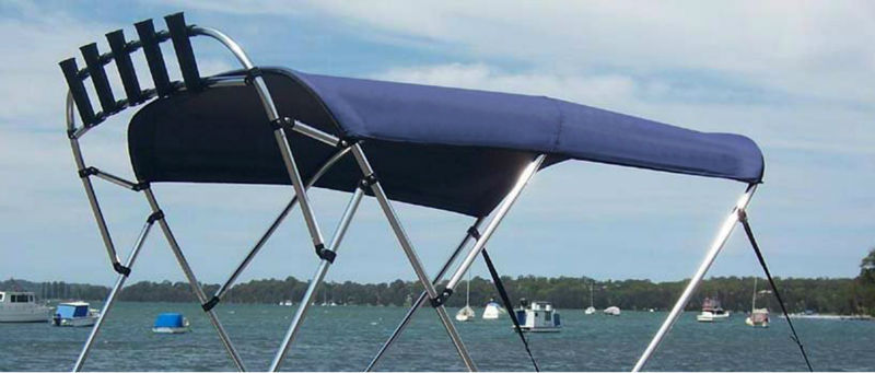 Boat fishing rod holders stainless steel marine boat for Fishing rod holders for pontoon boats