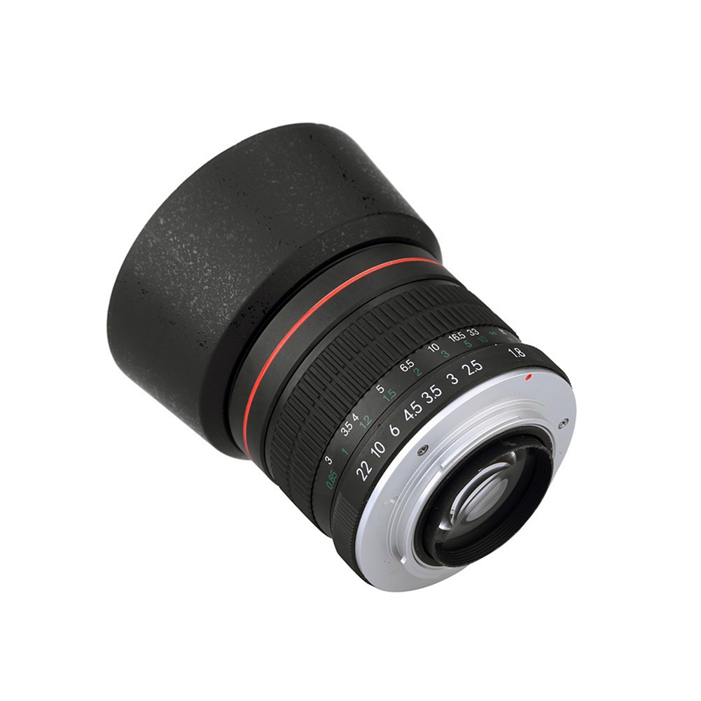Lightdow 85mm F1.8 Manual Focus Camera Lens for Nikon D850 D800 D750 D610 D300 D3100 D3200 D3400 D5100 D5200 camera lens