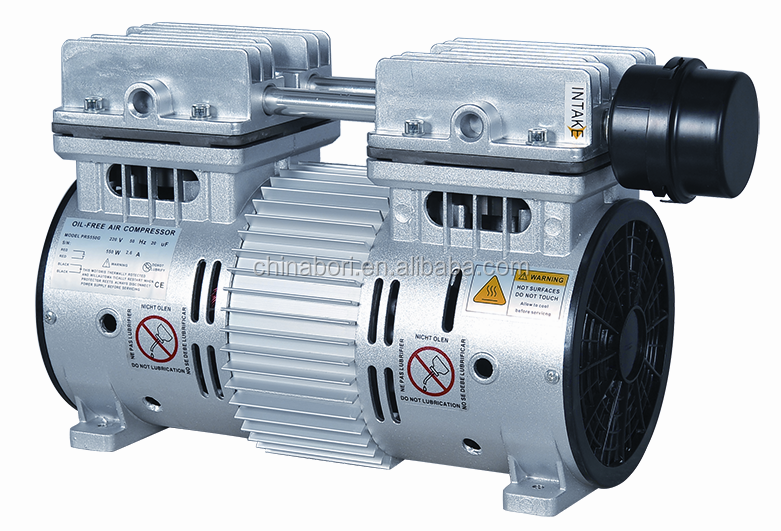 Reliable factory professional design oil free air compressor pump