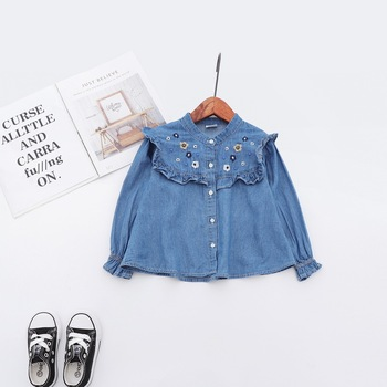 2019 New baby girl clothes top Newborn Infant Baby Girl Long Sleeve Ruffle T shirt Tops Clothes Outfits baby girl clothing
