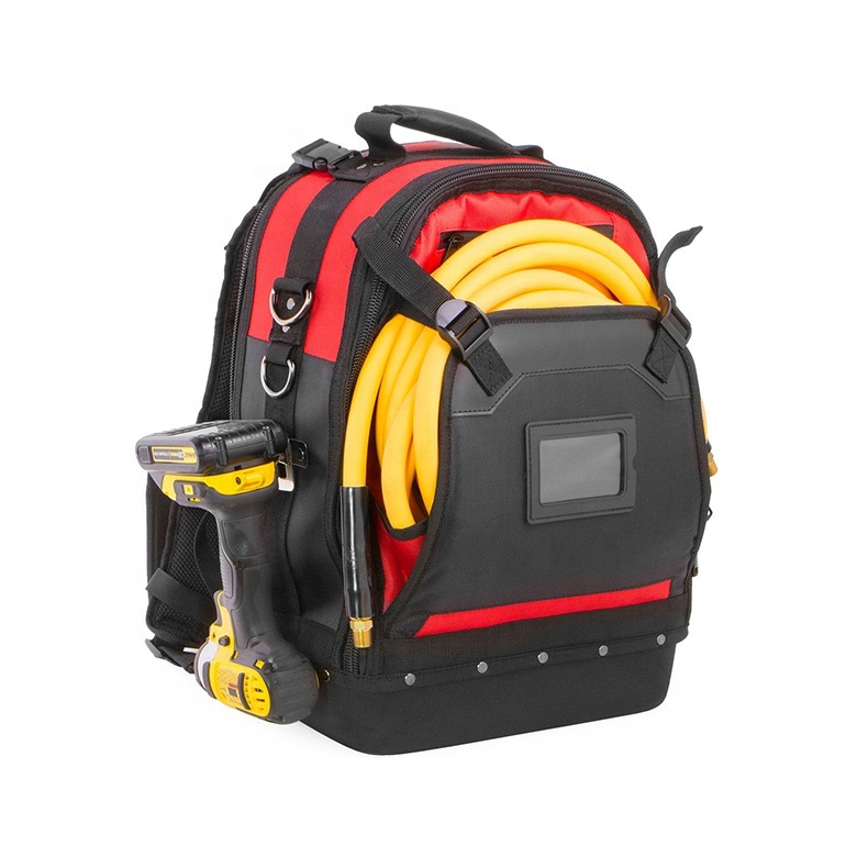 Latest Design Electrician Backpack Tool Bag Heavy Duty For Mountings