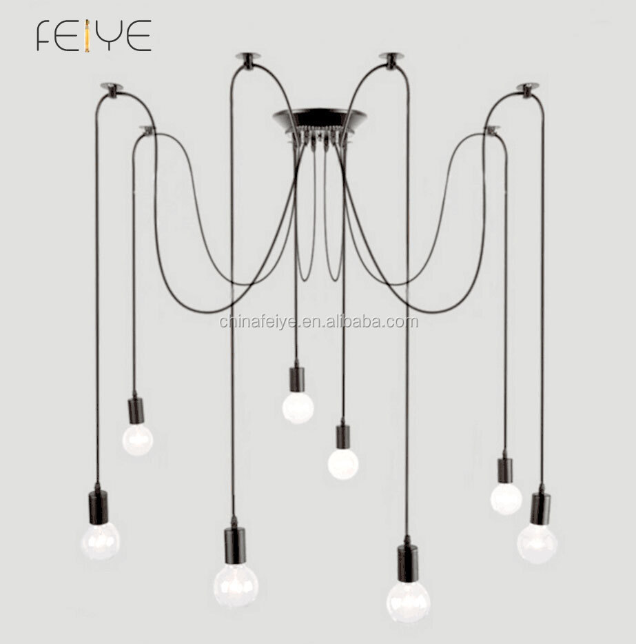 pendentif lustre moderne clairage lustre industrielle noir suspendus pendentifs rustique. Black Bedroom Furniture Sets. Home Design Ideas