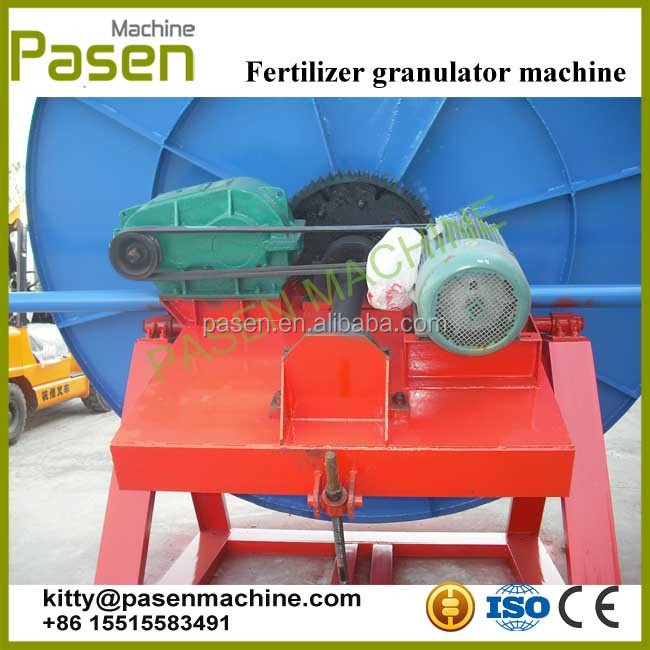 Granulating equipment | Commercial use disk fertilizer granulator machine