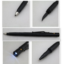 Multifunction tactical pen self defense pen , military tactical pen