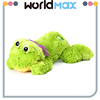 Top Selling Unique Shape Plush Lying Frog Cartoon Kid Girls Toys