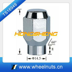 car wheel lugnut steel wheel lug nut