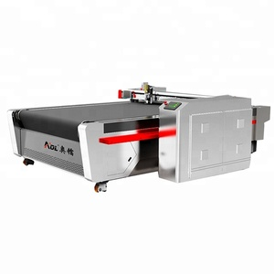 China Factory computer controlled automatic upholstery fabric textile cnc round knife cutting machine in cloth cutting machines