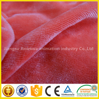 factory price warp knitting velboa/brushed fabric china supplier