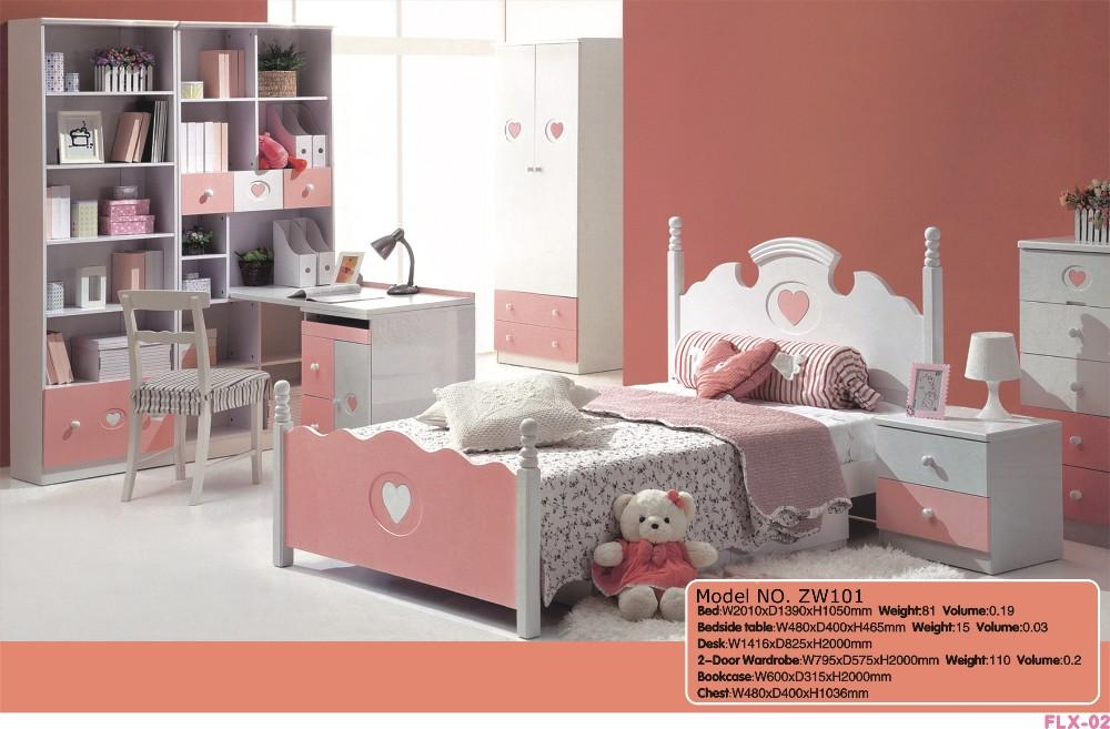 Slaapkamer Meubels Kind : Kinderen slaapkamer meubels met bed schrijven tafel garderobe