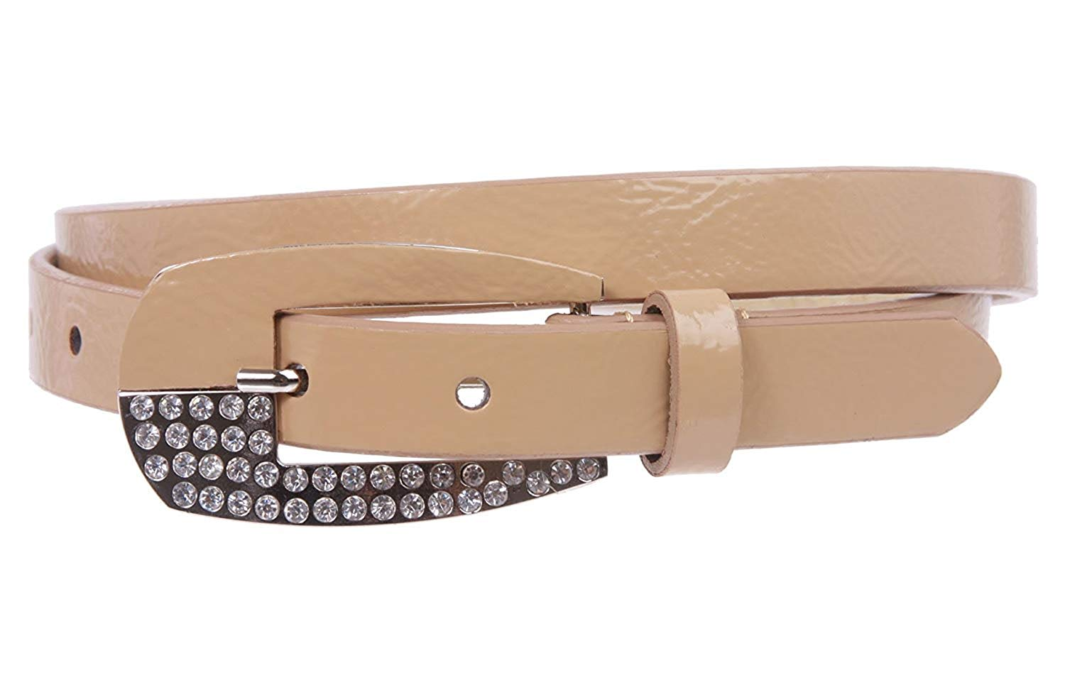 MONIQUE Women Western Single Prong Rhinestone 1.5 Belt Replacement Buckle