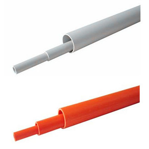 BS EN 50086 AS NZS 2053 JG 3050 white gray orange PVC conduit pipe from Beijing China
