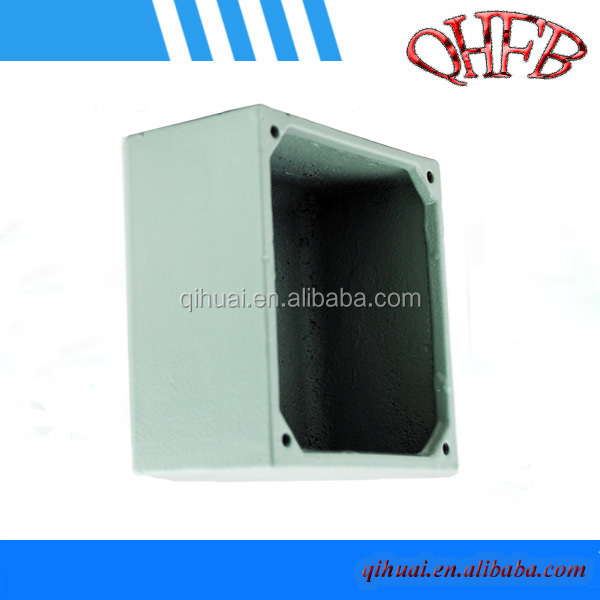 Waterproof aluminum stereo switch box