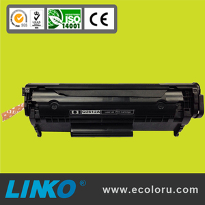 Wholesale factory compatible china premium laser printer toner cartridge for HP Q2612A