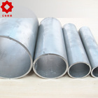 Low and middle pressure fluid pipeline used galvanized round tube