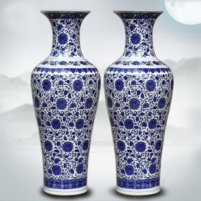 vase grande taille Belle Grande Taille Chinois Décoratif Vases En Céramique Pour La Décoration  De La Maison