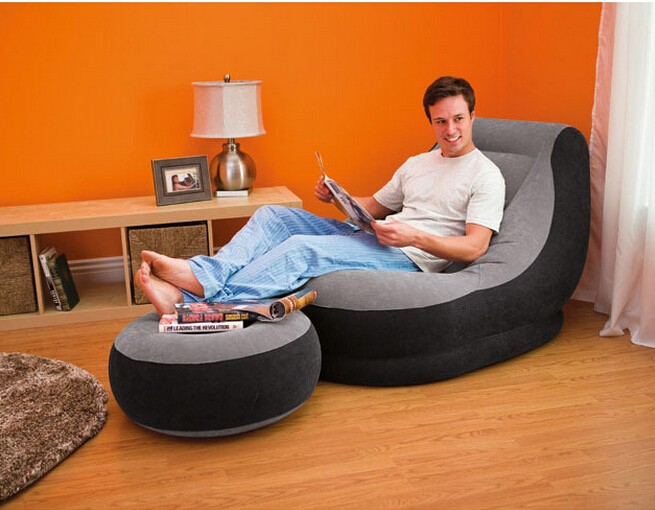 Fashionable Customized Comfortable Inflatable Furniture For Adults