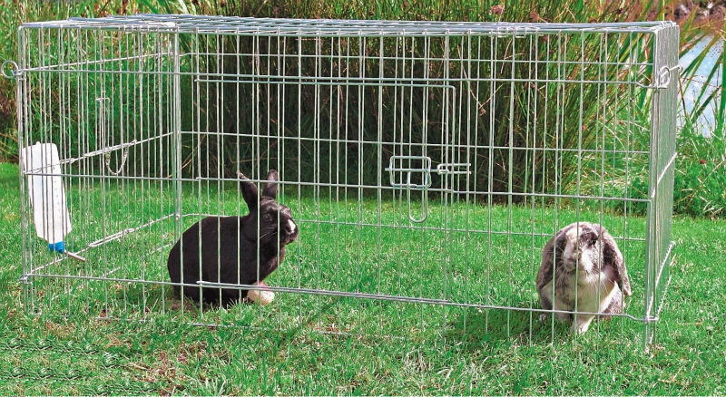 foldable metal wire rabbit hutch manufacturer