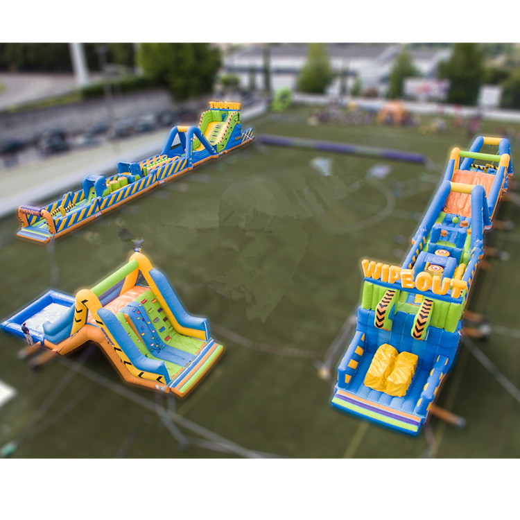 The world ' s largest giant cheap the beast challenge inflatable Obstacle Course for adult