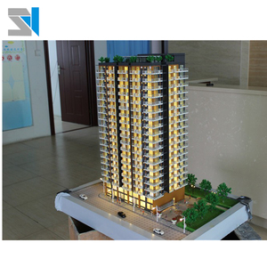 1/100 scale apartment architect mock for real estate marketing