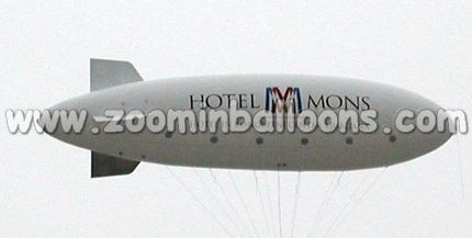 Inflatable helium balloon/blimp,Zoomin Inflatables 10m helium airship N1062