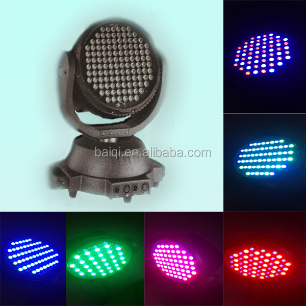 2015 top quality and beat price 120pcsx3w RGBW 12CH led moving head rotate luminous night light fast moving items from china