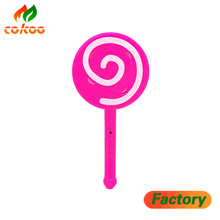 2017 HOT Baby Lollipop toys Glowing magic stick flashing fairy rods children's toys wholesale led lollipop with bells
