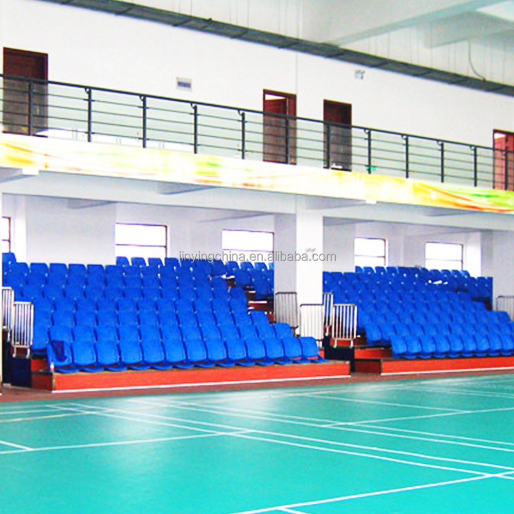 Aluminum retractable seating system Bleacher grandstand