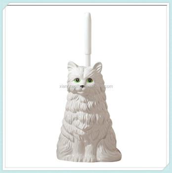 Katze Tier Wc Bürste Mit Halter Buy Wc Bürstenhalterwc Bürste Mit