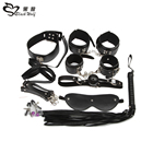 Adulte Bondage Kit fourrure lit restrictions Hot Sex jeu jouets pour Couple