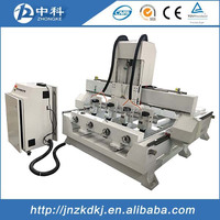CE certificate 4 axis rotary cnc router