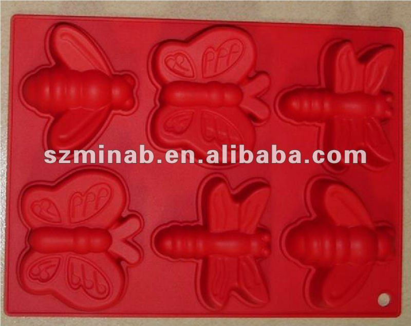 Animal shaped silicone molds for cake decorating /for baking