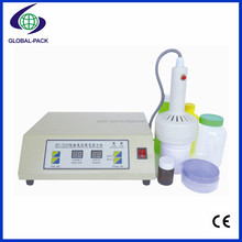 SF-1010 Table type manual jars pvc plastioc glass pet bottles packing electromagnetic induction sealing machines