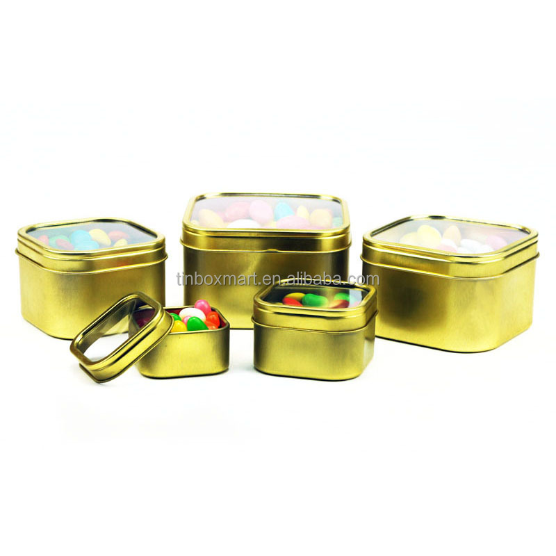 16 0Z custom new design food grade Christmas cookie tins