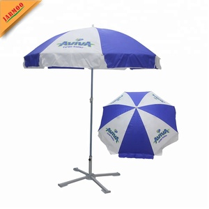Polyester Fabric Custom Design Umbrella Sun And Rain