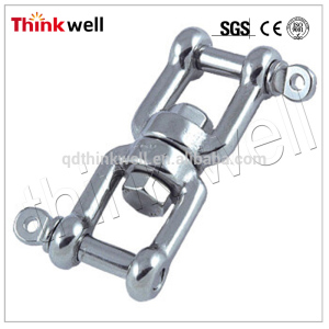 Top Level Forged Steel Double Jaw Swivel Shackle
