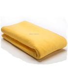 customized logo quick dry synthetic chamois car cleaning cloth