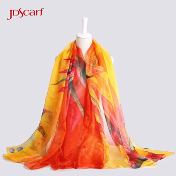 Skinny summer silk scarf where to buy scarves for painting women