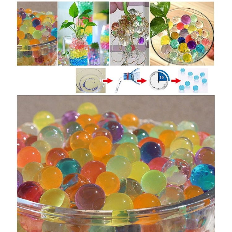 Pearl Shape Colorful Aroma Gel Water Beads for Air Freshener