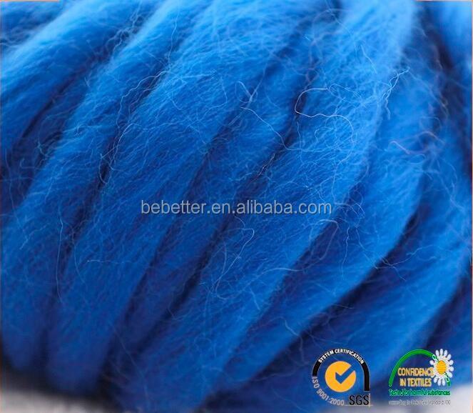 Hand Knitting Yarn 100% Merino Wool,Wholesale Wool Roving Yarn ...