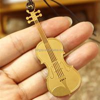 wholesale art and craft violin custom metal bookmark