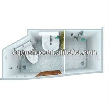 Marine Type B Sanitary Unit for Individual/bathroom/toilet and shower unit