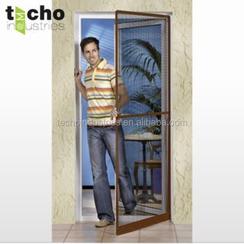 Aluminium Fiberglass Insect Screen Door Frame