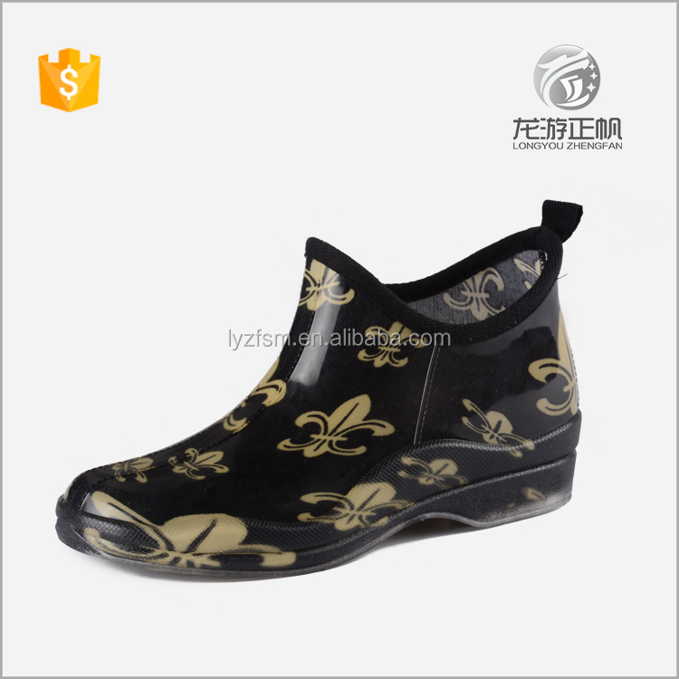 Low Cut Rain Boots, Low Cut Rain Boots Suppliers and Manufacturers ...