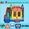 Crayon style inflatable bouncer combo,inflatable jumper and slide