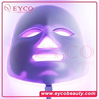 EYCO 7 colors Led mask 2016 new product red light collagen therapy led light for face wrinkles