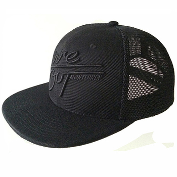 wholesale custom high quality flat brim mesh snapback trucker cap boys and girls baseball trucker caps and hats