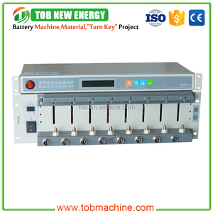 High Quality 8 Channel Battery Cell Capacity Tester For Cylinder Cell And Pouch Cell Testing